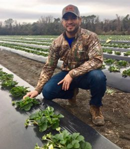Erik Hernandez, Foreman at Boone Hall Farms, Mount Pleasant, South Carolina