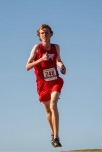 Patrick Spychalski running