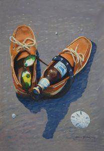 Painting by Steve Jordan