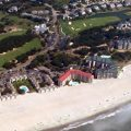 Isle of Palms, South Carolina beach aerial photo
