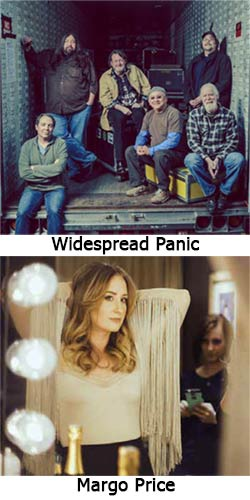 Widespread Panic (top) and Margo Price (bottom)