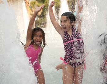 Splash Island Water Park at Palmetto Islands County Park