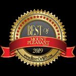 2019 Best of Mount Pleasant logo