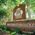 Brickyard Plantation neighborhood entrance sign