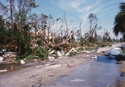 Hurricane Hugo left destruction in its wake in East Cooper and all along the South Carolina coast.