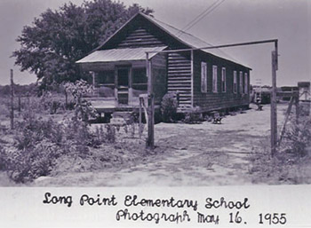 Photo of Long Point Elementary School, 1955