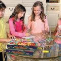 Girls playing Story Craze