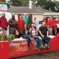 The Mount Pleasant Magazine Christmas Parade Float