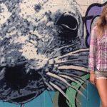 Familiar Sands: Muralist Gretta Kruesi Returns to Her IOP Roots