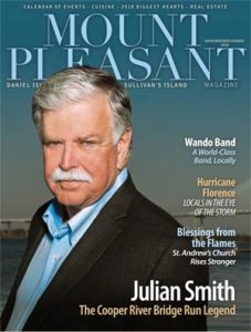 Nov/Dec 2018 Cover of Mount Pleasant Magazine
