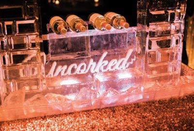 Bottles at Uncorked, the kickoff to Boone Hall Plantation's Wine Under the Oaks