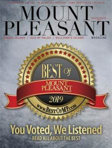 Jan/Feb 2019 cover of Mount Pleasant Magazine
