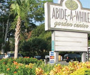 Abide-A-While Garden Center in Mt Pleasant, SC