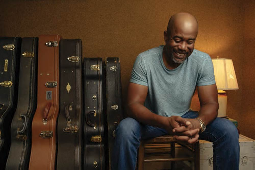 Darius Rucker smiles. Photo by David McClister.