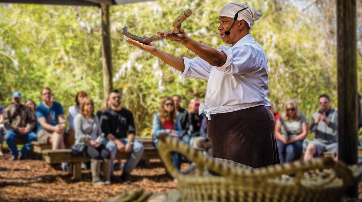 Miss Jackie Mickle, Gullah Theater