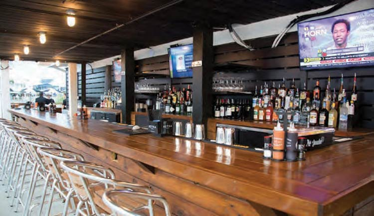 Food, Drink and Atmosphere at Saltwater Cowboys