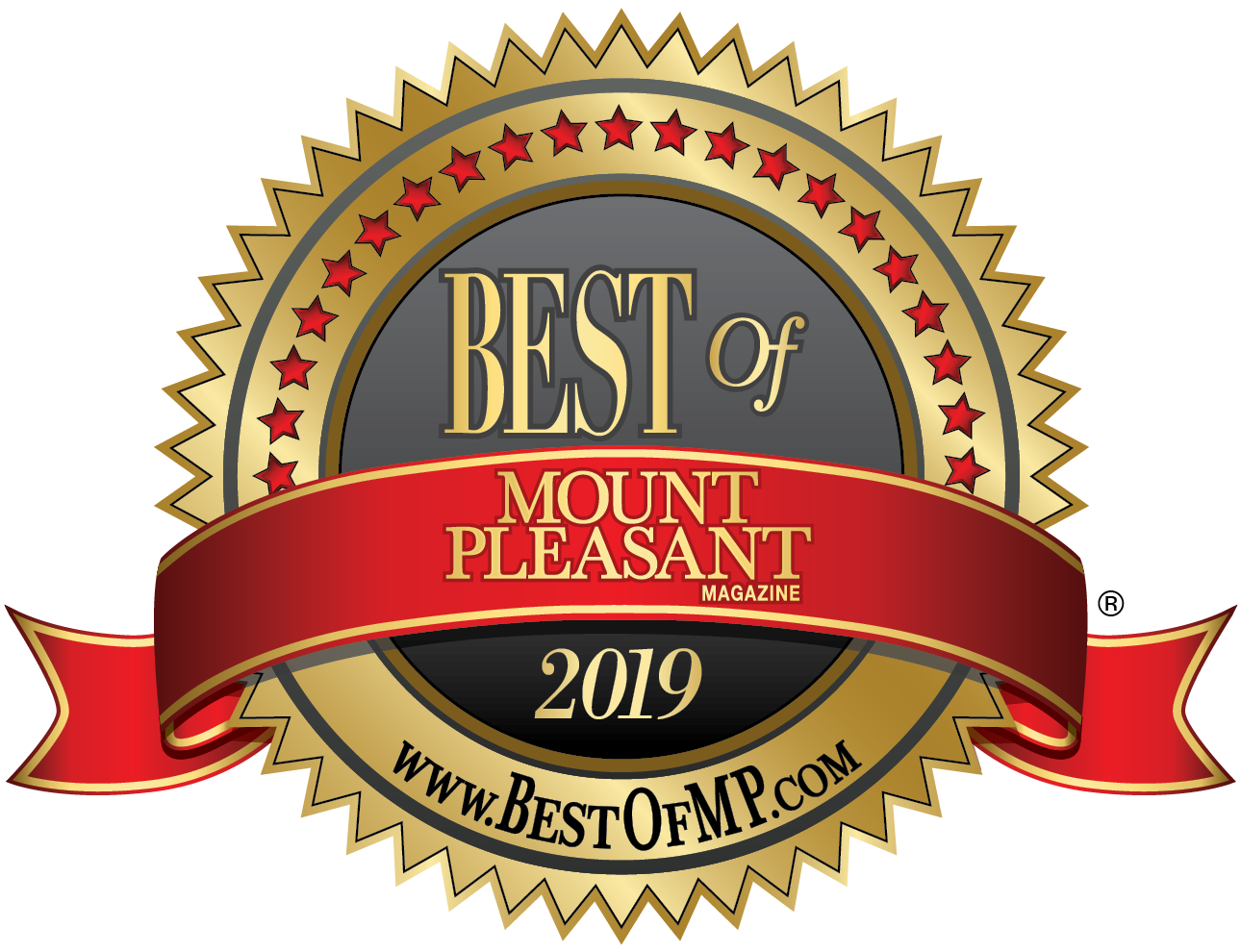 Best Of Mount Pleasant 2019 logo - Large, Transparent background, 300dpi