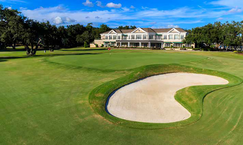 The 18th hole at the Country Club of Charleston. Photo courtesy of USGA/John Mummert.
