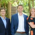 The Mortgage Network team: left to right, Chris Cardamone, Ethan Lane and Marina Bundy.