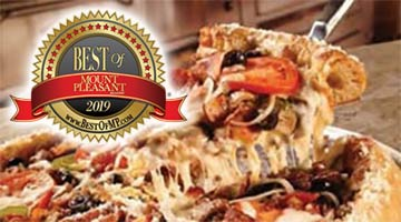 Mount Pleasant's Best Pizza: Mellow Mushroom