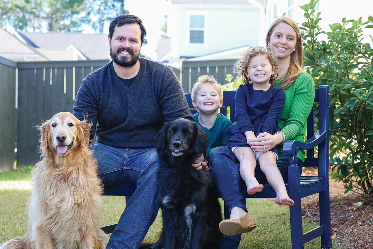Meet the Greer family of Mount Pleasant, South Carolina