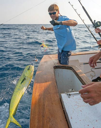 Sportfishing aboard the Renegade