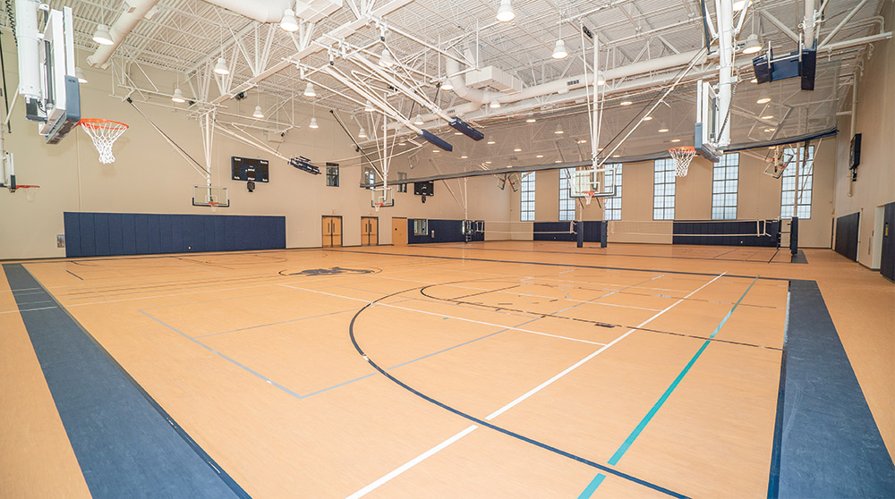 New Mount Pleasant Town Hall Gym (2019)