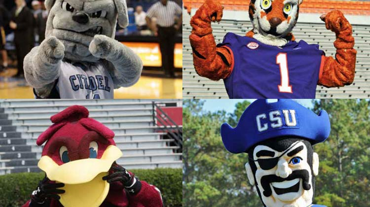 College Mascots: They Have School Spirit Covered — Head to Toe