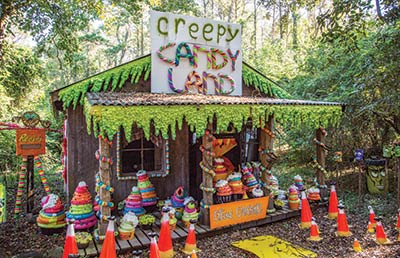 Creepy Candy Land at Boone Hall