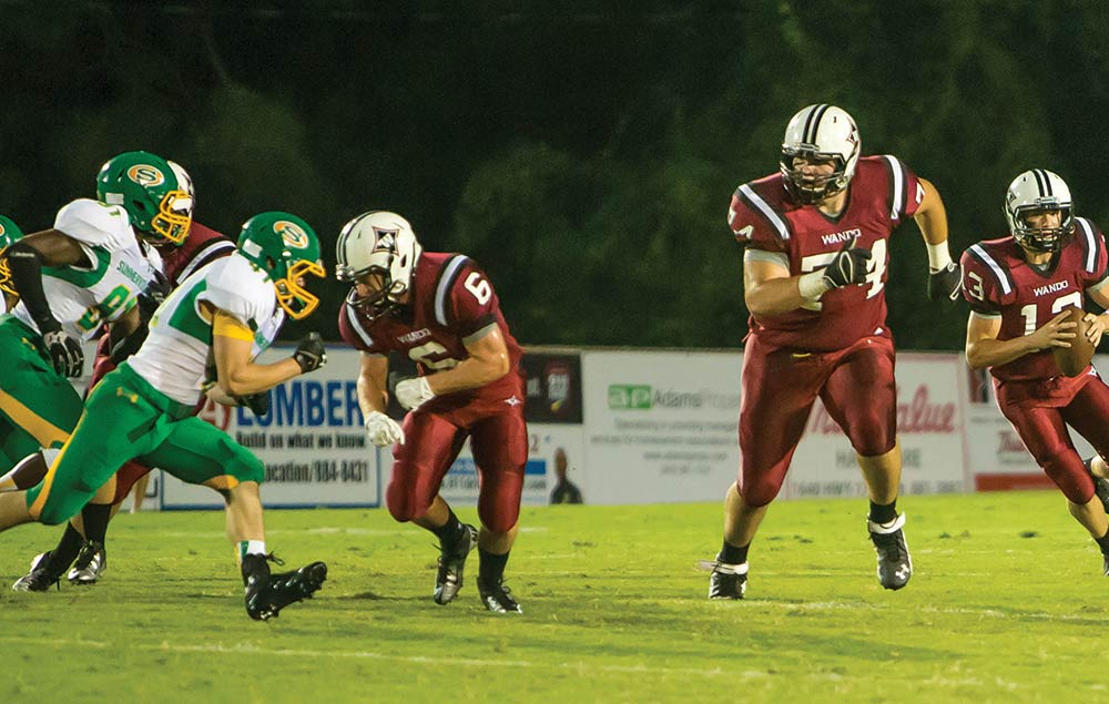 Wando High School football.