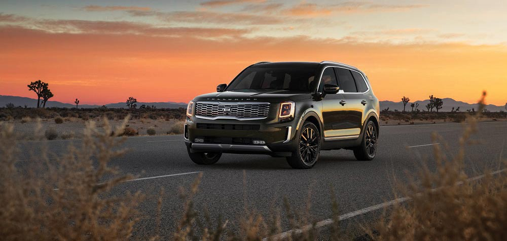 Kia Telluride. Photo courtesy of Kia Country of Charleston.