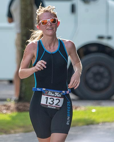 She Tris triathlete