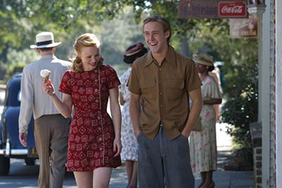 "Shooting for ""The Notebook"" with Noah and Allie."