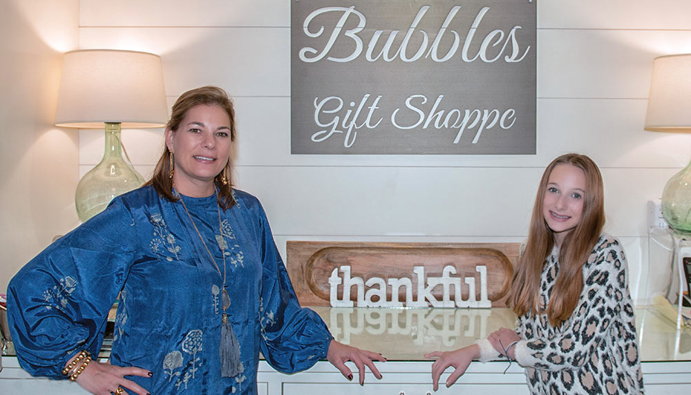 Bubbles Gift Shop: Mary Brennan Wilkinson (right) and her mother, Jenn.