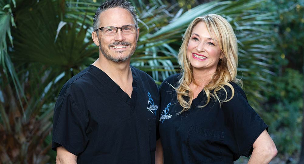 Jack Hensel, Lowcountry Plastic Surgery and Michele Hensel of Lowcountry Beauty and Wellness Spa