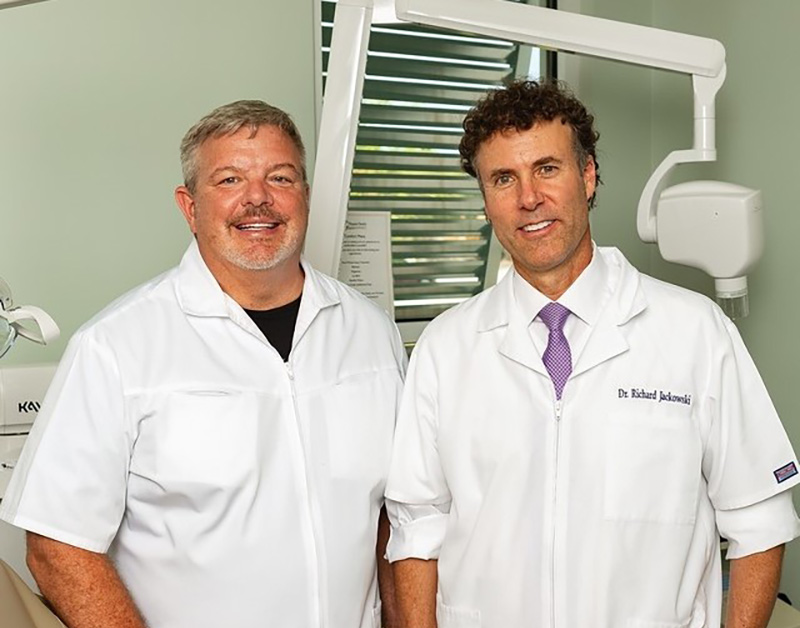 Pleasant Family Dentistry founders Dr. Greg Johnson and Dr. Richard Jackowski