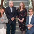 New Council members (left to right) Brenda Corley, Howard Chapman, Laura Hyatt and Jake Rambo