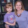 Mount Pleasant Magazine Managing Editor Teri Griffis and her daughter, Alice.