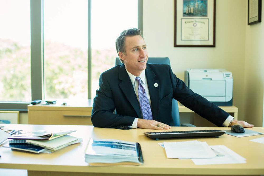 Mount Pleasant Town Administrator Eric DeMoura.