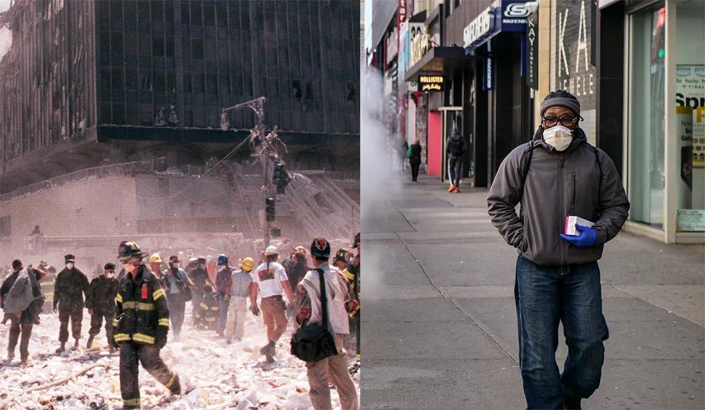 A New Yorker's Take: Two Devastations. September 11, 2001 Attacks and the COVID-19 Pandemic.