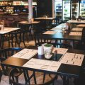 Restaurant tables ready for diners