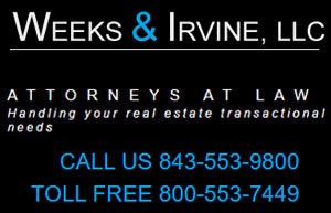 Weeks & Irvine, LLC. Attorneys at Law Handling your real estate transactional needs.