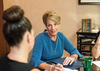 Karen Stawicki, owner of Compass Financial.