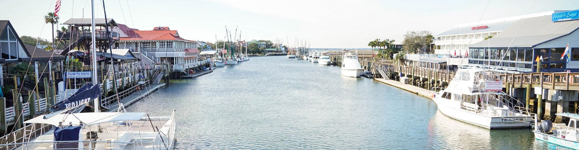 Mount Pleasant- photo of Shem Creek