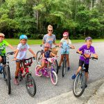 Families Enjoy Biking East Cooper