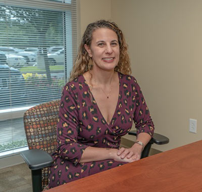 Dr. Julie LaCubbert, core faculty member and advisor of the university's counseling program