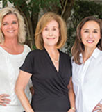 Franne Schwarb, Chari Karinshak and Yvette Grist of Coldwell Banker Residential
