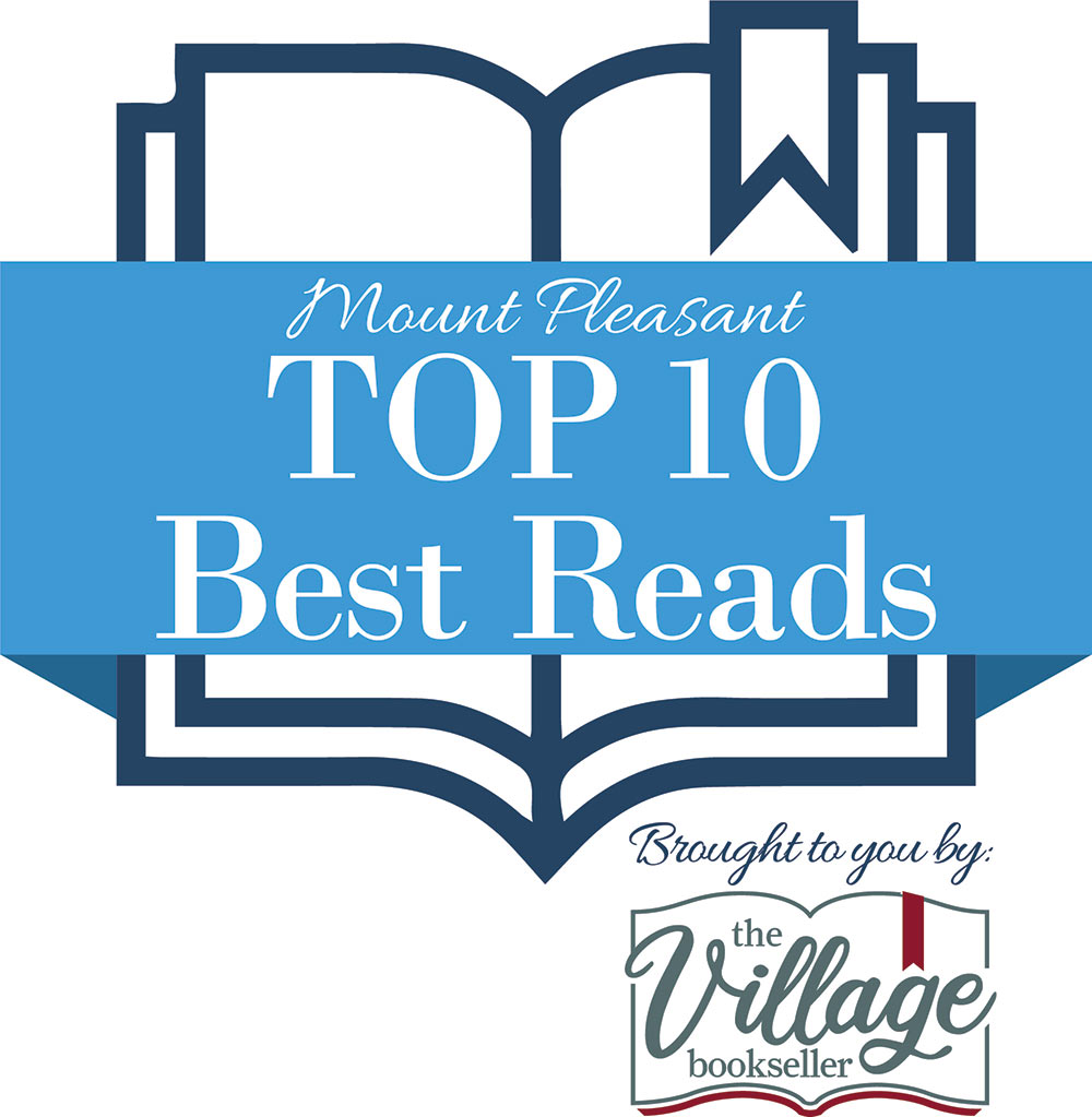 Top 10 Best Reads logo. Brought to you by The Village Bookseller.