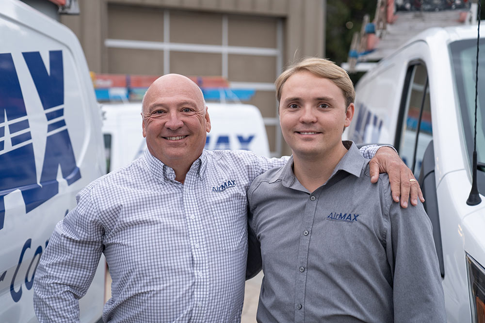 AirMax owner R. Medd Box and son Rudy are proud to be carrying on their family's tradition of entrepreneurship.