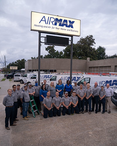 The AirMax team is proud to serve Lowcountry clients comfort with a smile